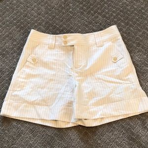 Banana Republic Martin fit Pinstripe shorts